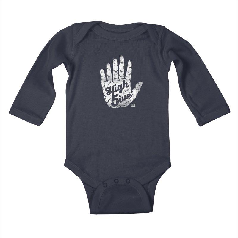High 5ive Kids Baby Longsleeve Bodysuit by Saturday Morning Society