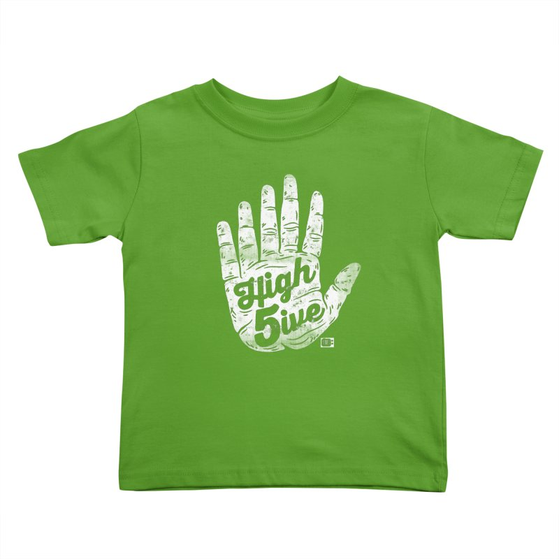 High 5ive Kids Toddler T-Shirt by Saturday Morning Society