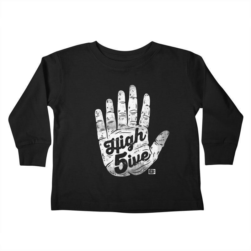 High 5ive Kids Toddler Longsleeve T-Shirt by Saturday Morning Society