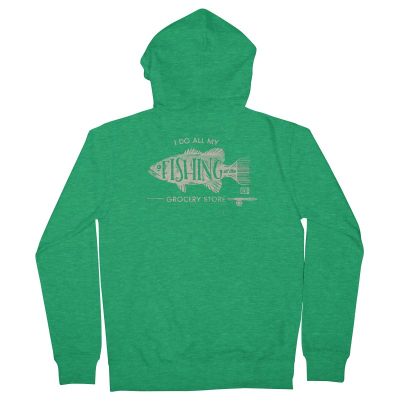 Fishin' Fo' Life Men's Zip-Up Hoody by Saturday Morning Society