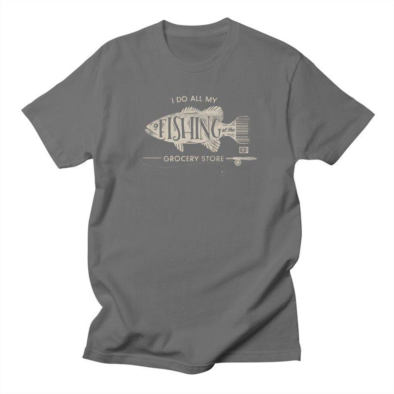 Fishin' Fo' Life Men's T-Shirt by Saturday Morning Society