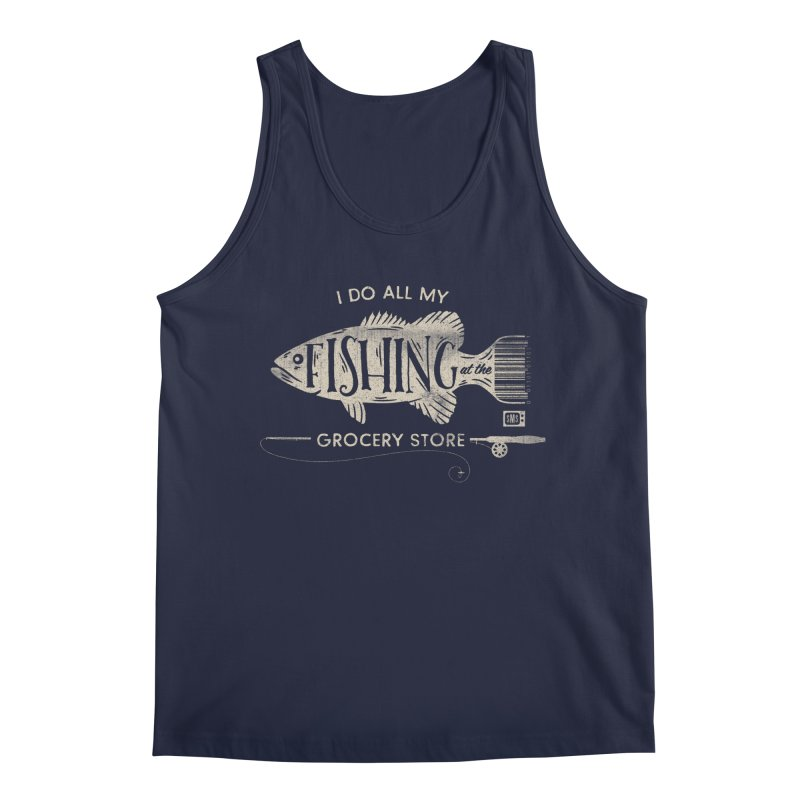 Fishin' Fo' Life Men's Tank by Saturday Morning Society