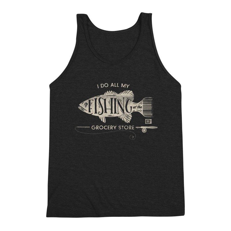 Fishin' Fo' Life Men's Tank by Saturday Morning Society
