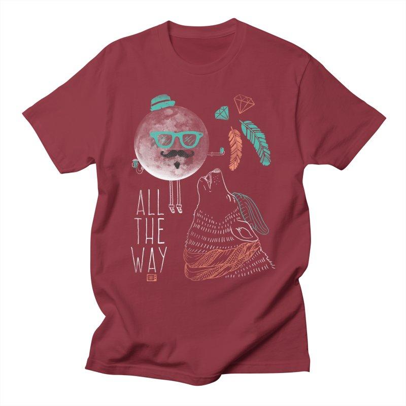 All the Way Men's T-Shirt by Saturday Morning Society