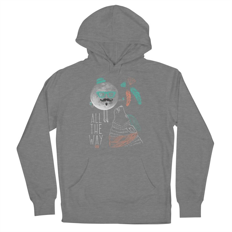 All the Way Women's Pullover Hoody by Saturday Morning Society