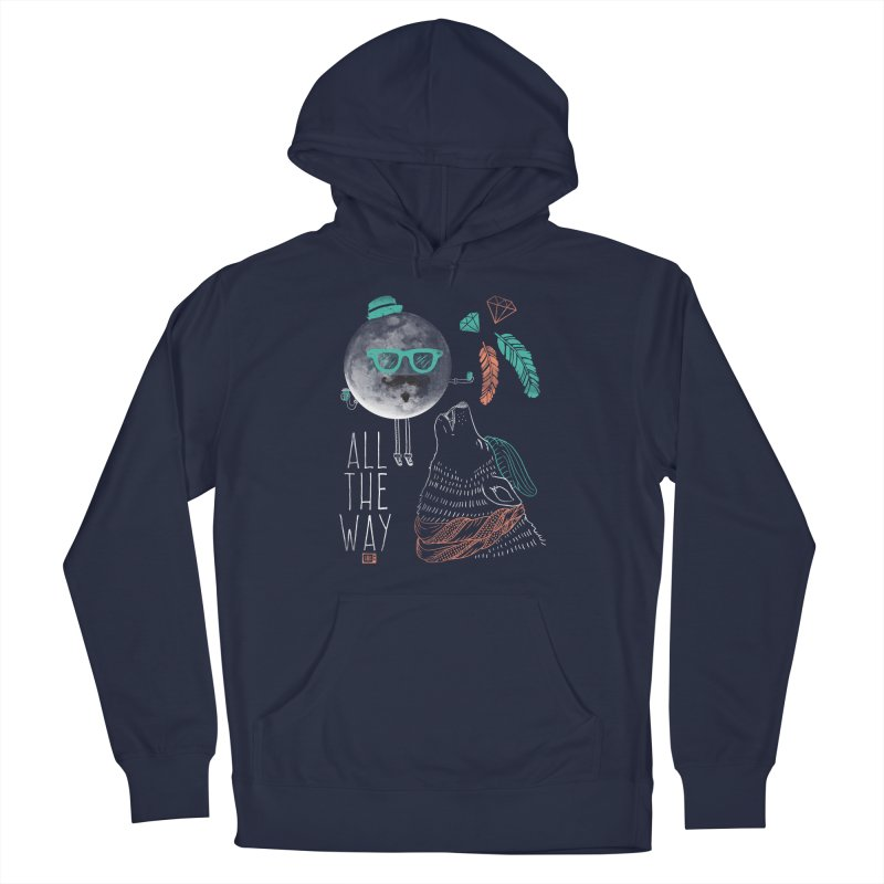 All the Way Men's Pullover Hoody by Saturday Morning Society