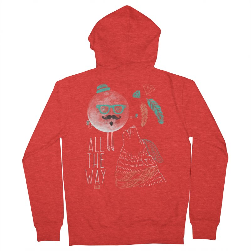 All the Way Men's Zip-Up Hoody by Saturday Morning Society
