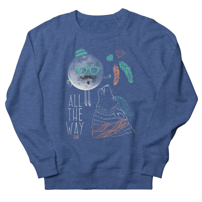 All the Way Men's Sweatshirt by Saturday Morning Society