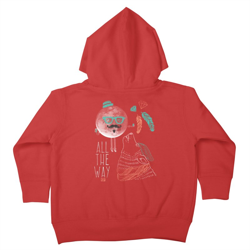 All the Way Kids Toddler Zip-Up Hoody by Saturday Morning Society