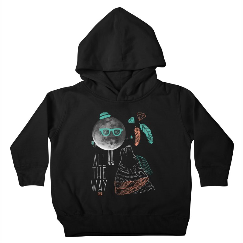 All the Way Kids Toddler Pullover Hoody by Saturday Morning Society