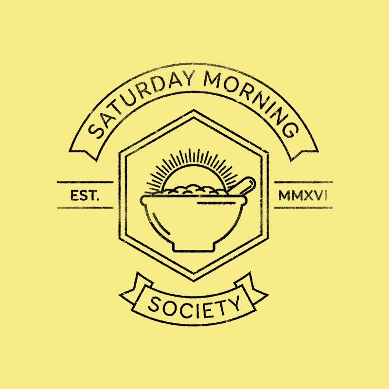 SMS Lineart Logo Kids Toddler T-Shirt by Saturday Morning Society