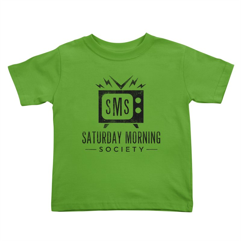 SMS Logo Tee Kids Toddler T-Shirt by Saturday Morning Society