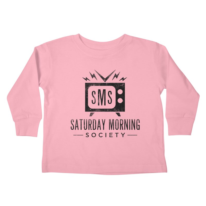 SMS Logo Tee Kids Toddler Longsleeve T-Shirt by Saturday Morning Society