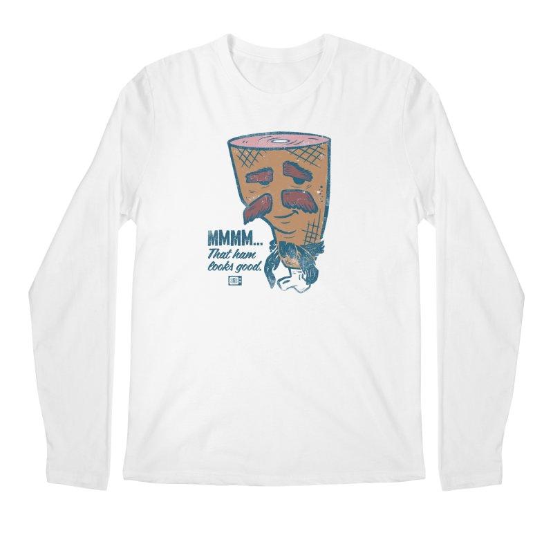 Sexy Ham Men's Longsleeve T-Shirt by Saturday Morning Society