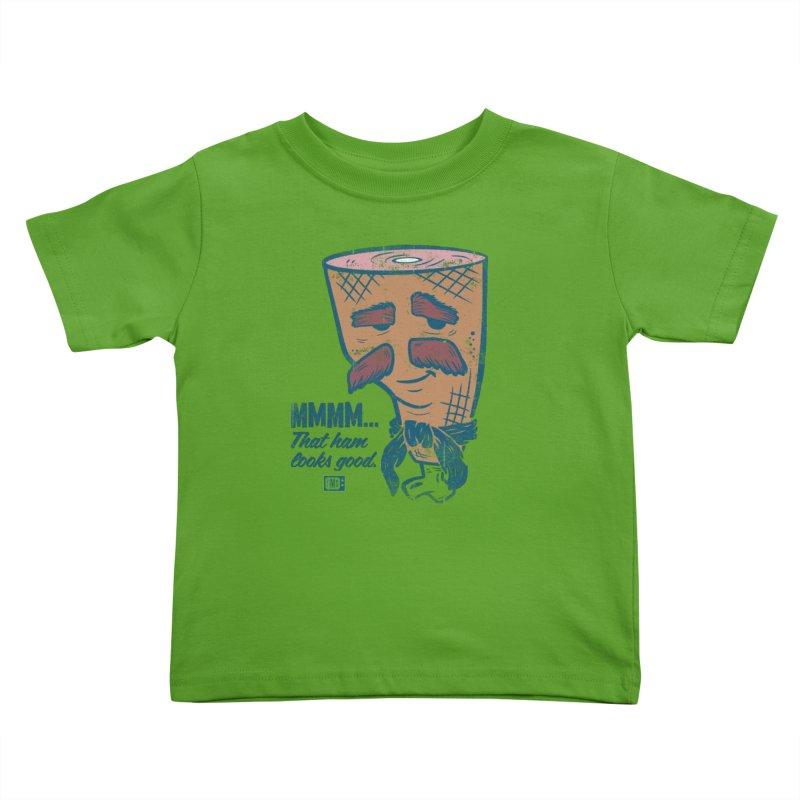 Sexy Ham Kids Toddler T-Shirt by Saturday Morning Society