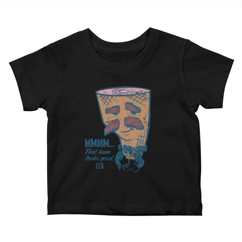 Sexy Ham Kids Baby T-Shirt by Saturday Morning Society