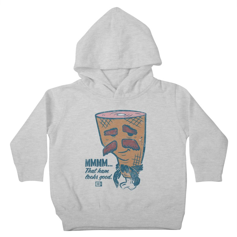 Sexy Ham Kids Toddler Pullover Hoody by Saturday Morning Society