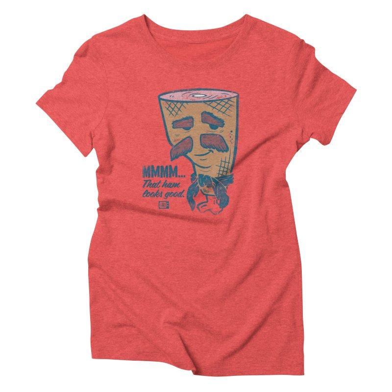 Sexy Ham Women's T-Shirt by Saturday Morning Society