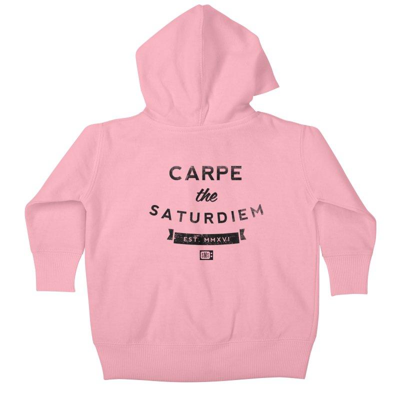 Carpe the Saturdiem Kids Baby Zip-Up Hoody by Saturday Morning Society