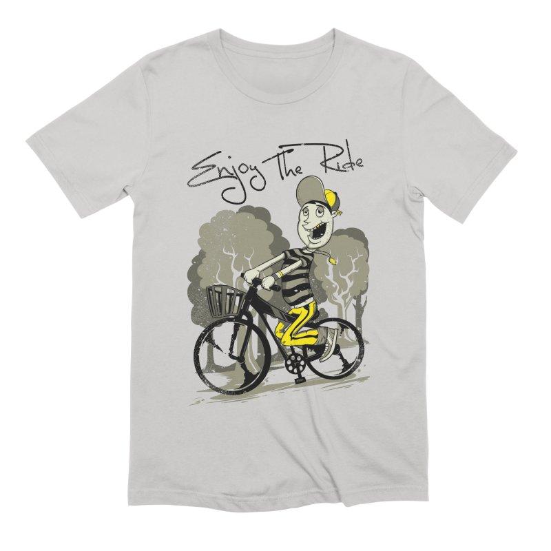 Enjoy The Ride Men's T-Shirt by saucyrobot's Artist Shop