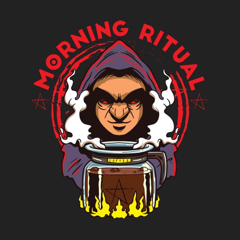 Morning Ritual Men's T-Shirt by Saucy Robot