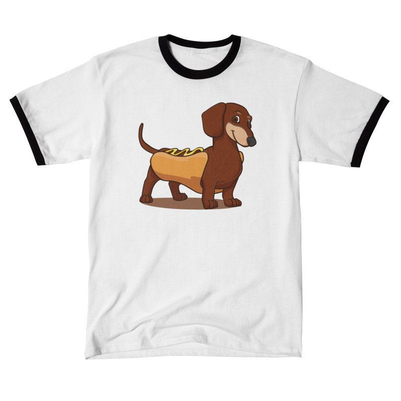 Hot Dawg Women's T-Shirt by Saucy Robot