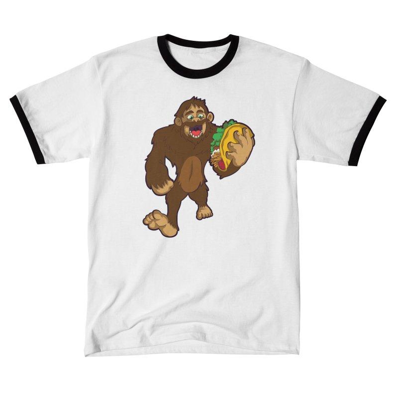 Bigfoot Taco Women's T-Shirt by Saucy Robot