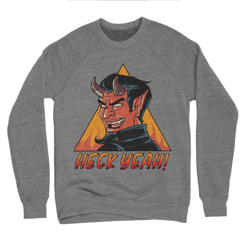 Heck Yeah Women's Sweatshirt by Saucy Robot