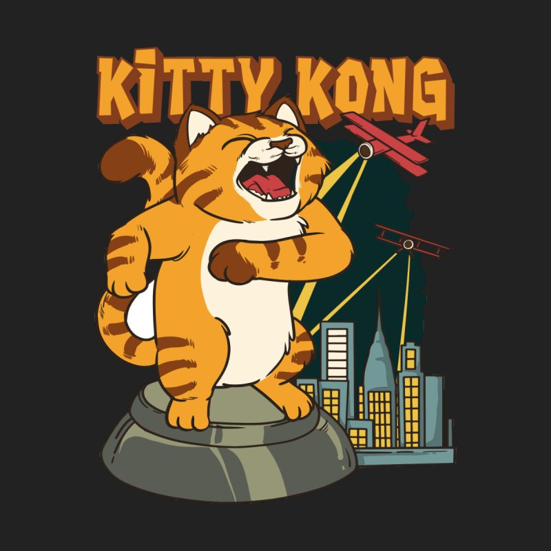 Kitty Kong Men's T-Shirt by Saucy Robot