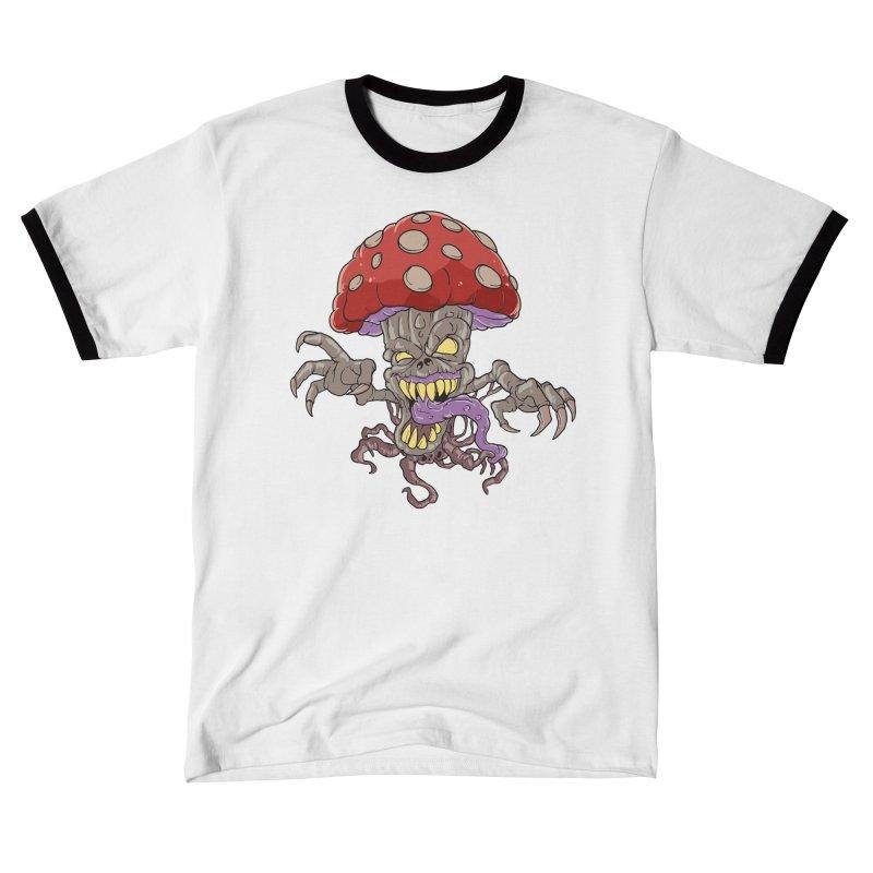 Bad Mushroom Trip Women's T-Shirt by Saucy Robot