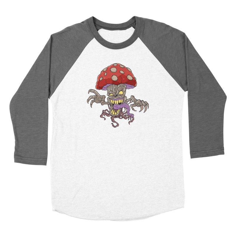 Bad Mushroom Trip Women's Longsleeve T-Shirt by Saucy Robot