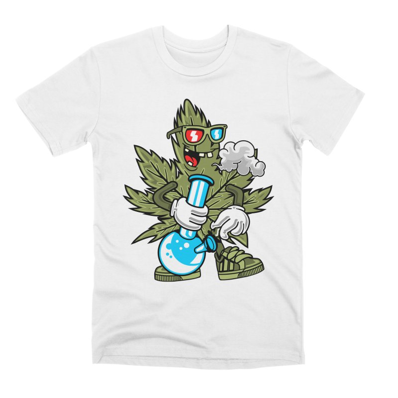 Weed Man Men's T-Shirt by Saucy Robot