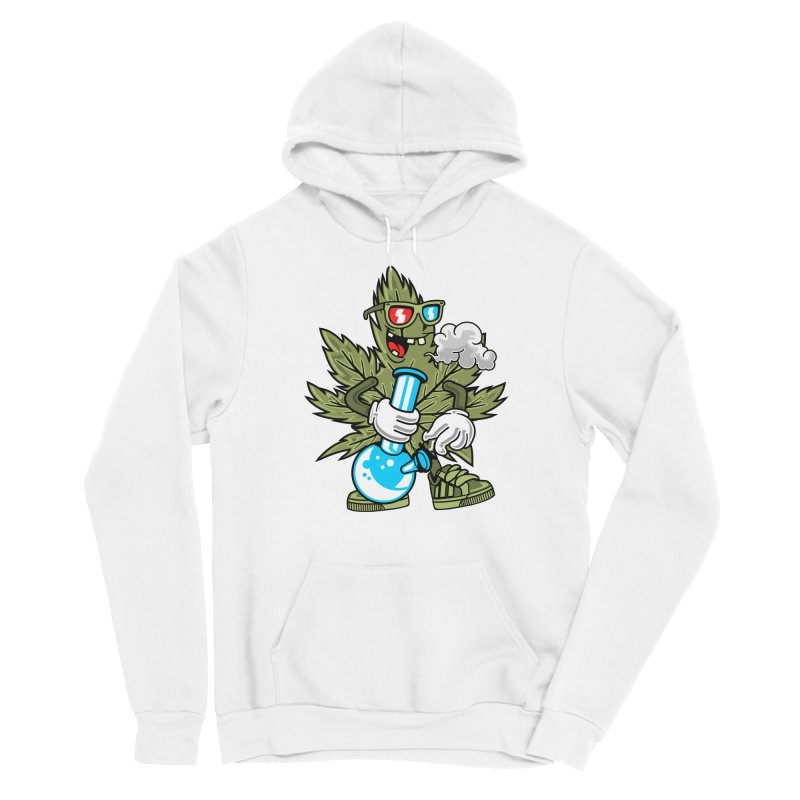 Weed Man Men's Pullover Hoody by Saucy Robot