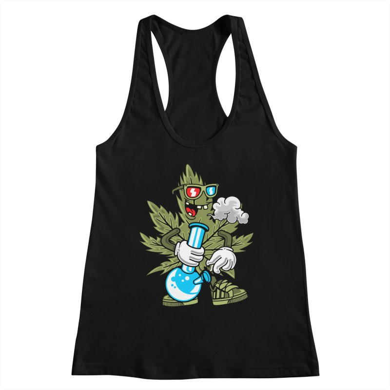 Weed Man Women's Tank by Saucy Robot