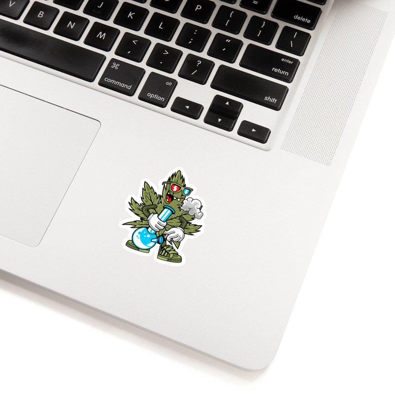 Weed Man Accessories Sticker by Saucy Robot