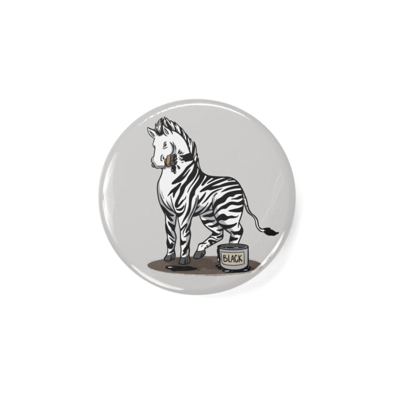Making Of A Zebra Accessories Button by Saucy Robot
