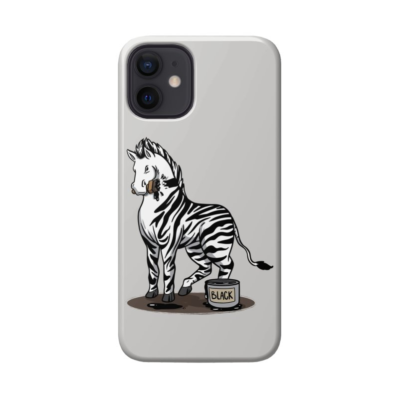 Making Of A Zebra Accessories Phone Case by Saucy Robot