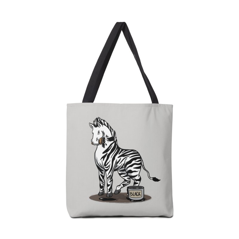 Making Of A Zebra Accessories Bag by Saucy Robot