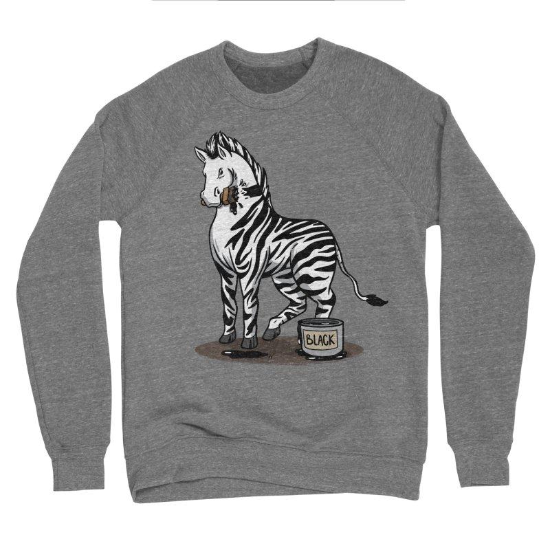 Making Of A Zebra Women's Sweatshirt by Saucy Robot