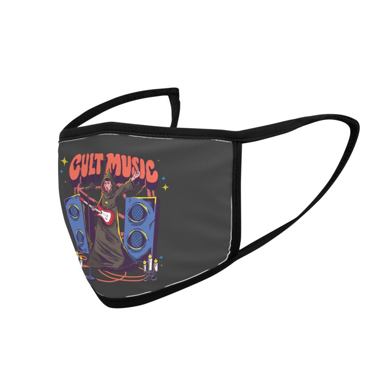 Cult Music Accessories Face Mask by Saucy Robot