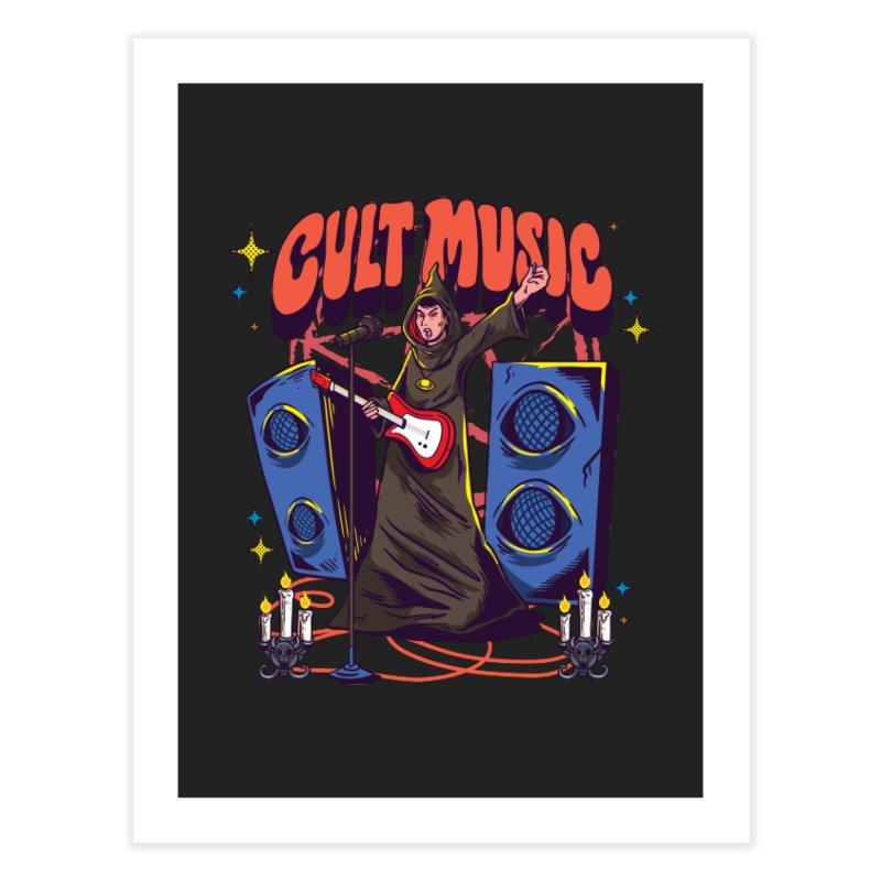 Cult Music Home Decor Fine Art Print by Saucy Robot
