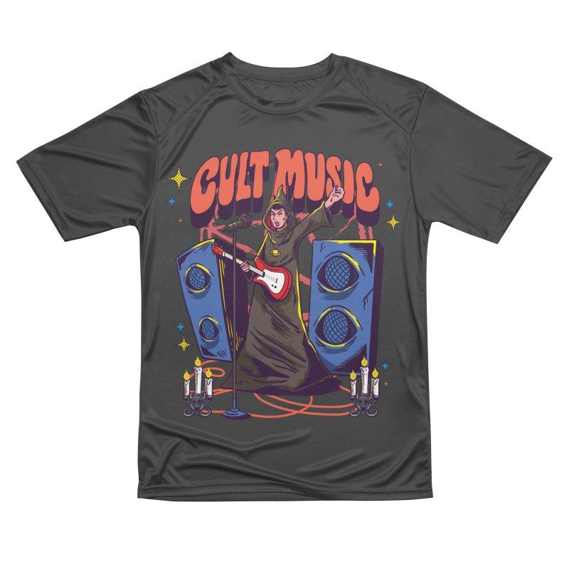 Cult Music Men's T-Shirt by Saucy Robot