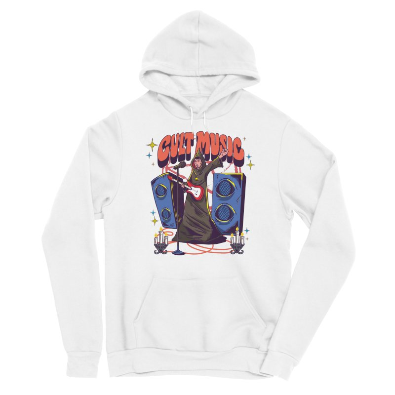 Cult Music Women's Pullover Hoody by Saucy Robot