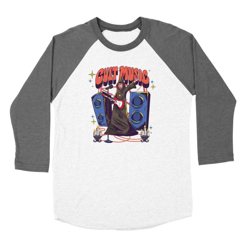 Cult Music Women's Longsleeve T-Shirt by Saucy Robot