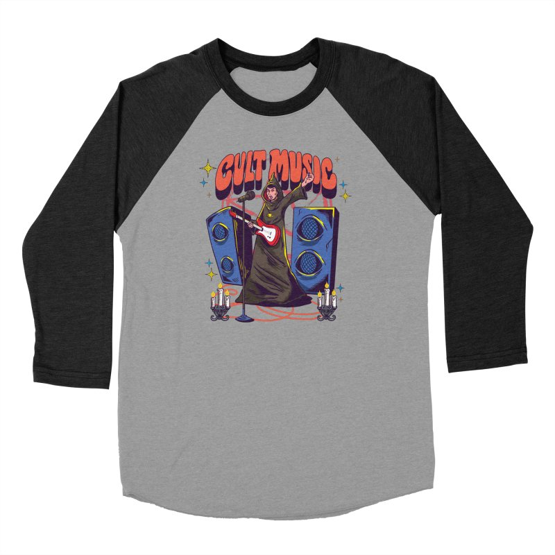 Cult Music Men's Longsleeve T-Shirt by Saucy Robot