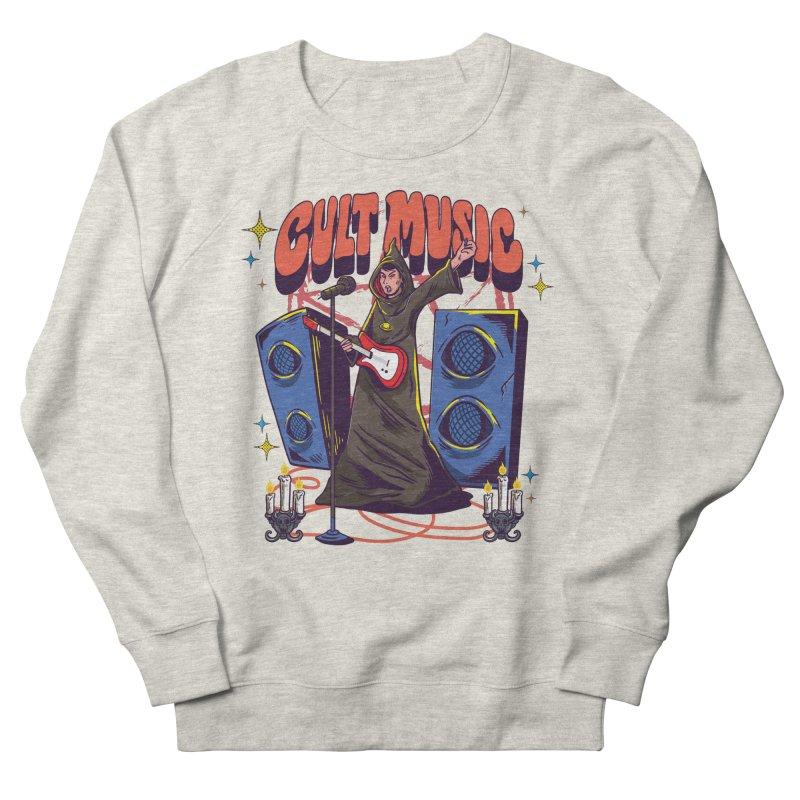 Cult Music Men's Sweatshirt by Saucy Robot