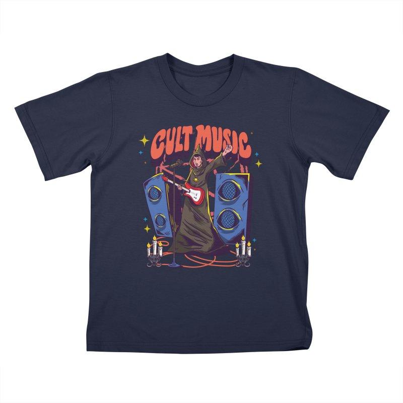 Cult Music Kids T-Shirt by Saucy Robot