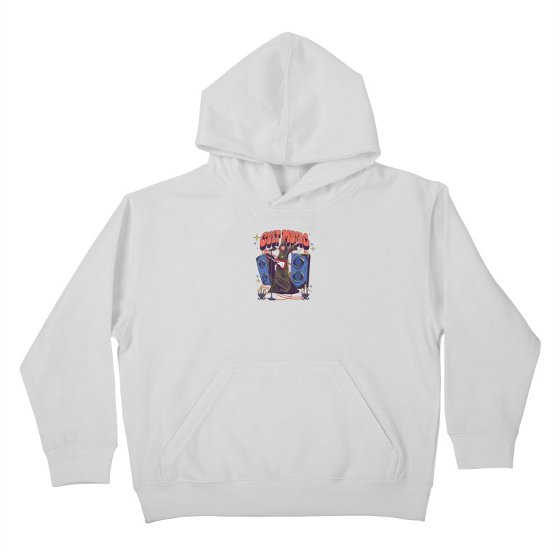 Cult Music Kids Pullover Hoody by Saucy Robot