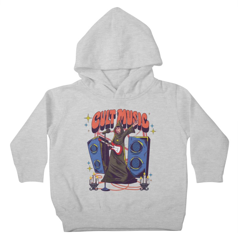 Cult Music Kids Toddler Pullover Hoody by Saucy Robot
