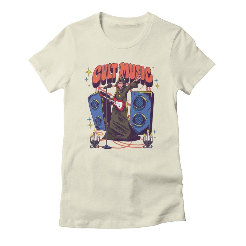 Cult Music Women's T-Shirt by Saucy Robot